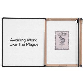 Avoiding Work Like The Plague iPad Cover
