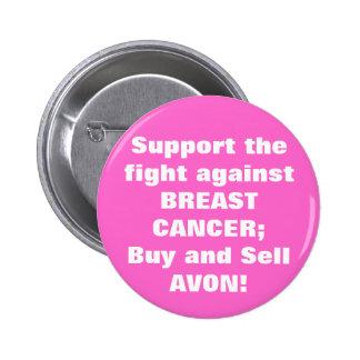 Avon: Botón del cáncer de pecho Pins