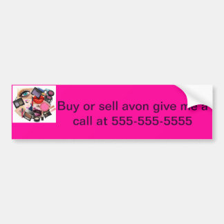 Avon Bumper Sticker