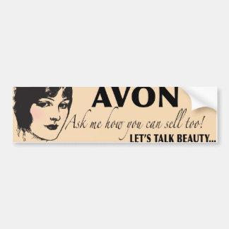 Avon Car Bumper Sticker