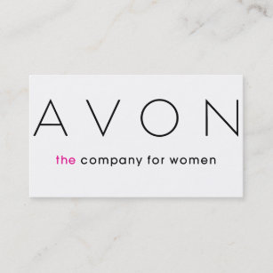 Avon business cards zazzle avon business card cheaphphosting Choice Image