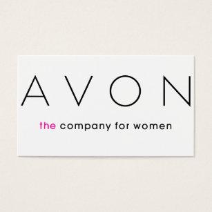 Avon business cards templates zazzle avon business card colourmoves