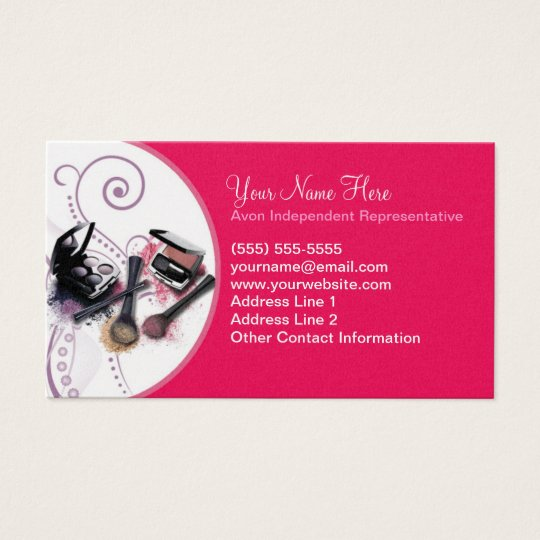 Avon business card zazzle avon business card flashek Image collections
