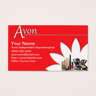 Of Avon Business Cards Templates Zazzle - Avon business card template