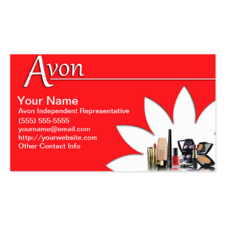 600 Avon Business Cards and Avon Business Card Templates