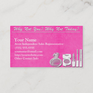 Avon business cards templates zazzle avon business card accmission Images