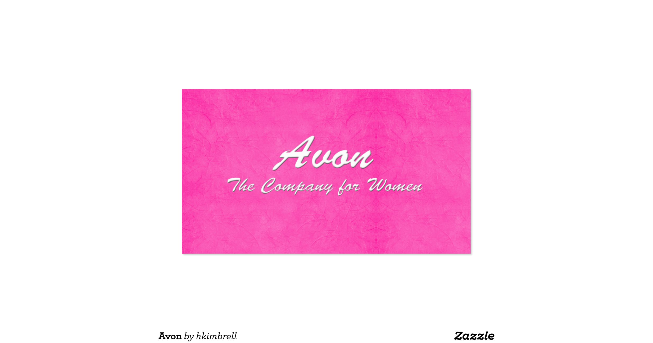 Avon Double Sided Standard Business Cards Pack 100