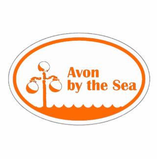 Avon by the Sea Euro Oval Cutout