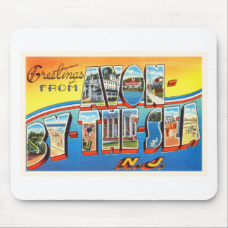 Avon by the Sea New Jersey NJ Vintage Postcard - Mouse Pad