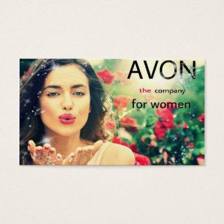 AVON., calling card