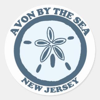 Avon. Classic Round Sticker