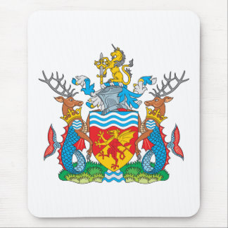 Avon Coat of Arms Mouse Pad
