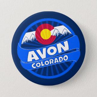 Avon Colorado mountain burst button