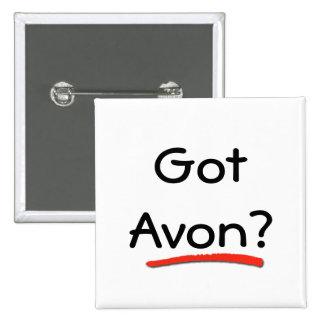 ¿Avon conseguido Botón Pin