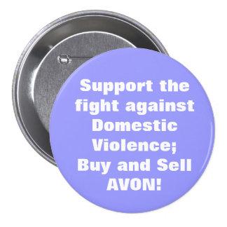 Avon: Domestic Violence Pinback Button