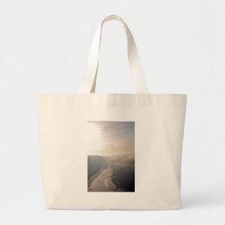 Avon Gorge in the mist Jumbo Tote Bag