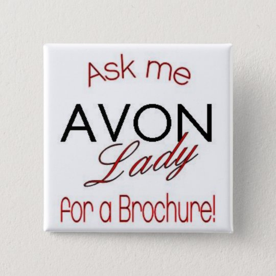 Avon Lady Pin