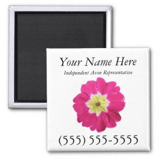 Avon Magnetic Business Card Refrigerator Magnet