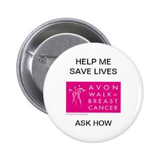 Avon-paseo-contra-pecho-cáncer Pins