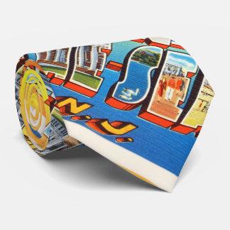 Avon por la postal del vintage de New Jersey NJ Corbata