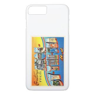 Avon por la postal del vintage de New Jersey NJ Funda iPhone 7 Plus