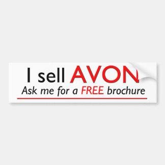 Avon Professional Advertising Bumper Sticker