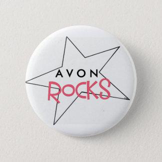AVON Rocks! Pinback Button