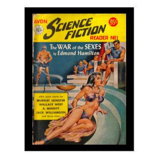 Avon Science Fiction Reader 01 (1951.Avon)_Pulp Ar Postcard