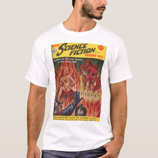 Avon Science Fiction Reader 02 (1951.Avon)_Pulp Ar T-Shirt