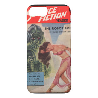 Avon Science Fiction Reader 03 (1952.Avon)_Pulp Ar iPhone 8/7 Case