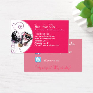 Avon, Social Media Business Card