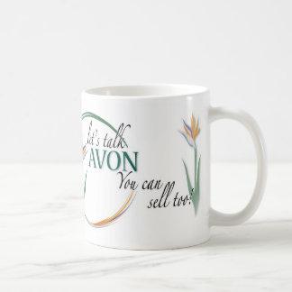 ¡Avon-usted puede vender también! Taza Básica Blanca