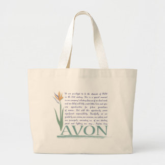 Avon Values of Business Large Tote Bag