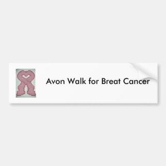 Avon Walk for Breat Cancer Car Bumper Sticker