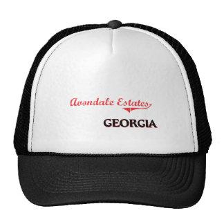 Avondale Estates Georgia City Classic Mesh Hats