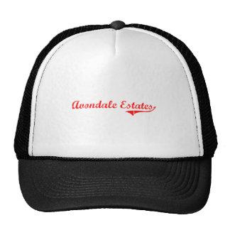 Avondale Estates Georgia Classic Design Hats