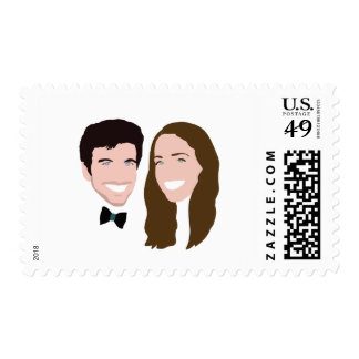Avrin and Emma Postage Stamp