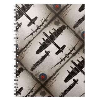 Avro 683 Lancaster 1 Notebook
