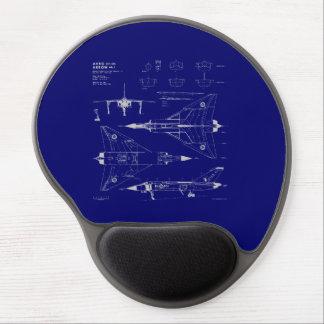 Avro Arrow Gel Mouse Pad