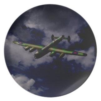 Avro Lancaster 1943 plate