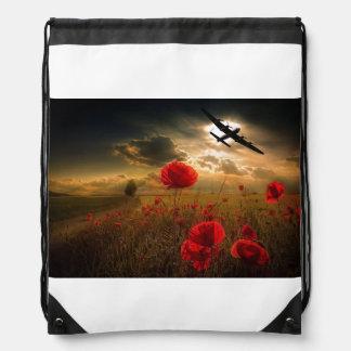 Avro Lancaster Bomber Drawstring Bag