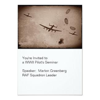 Avro Lancaster Flyover Card