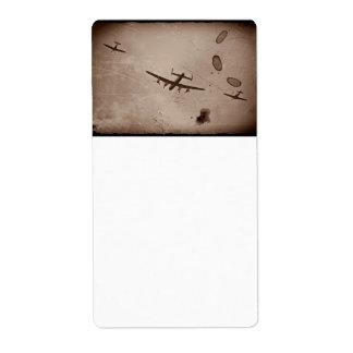 Avro Lancaster Flyover Label