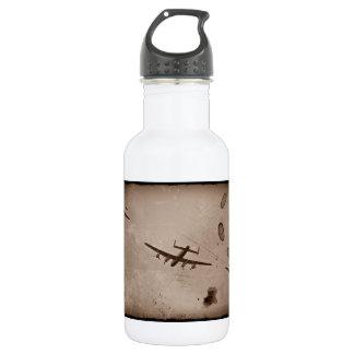 Avro Lancaster Flyover Stainless Steel Water Bottle