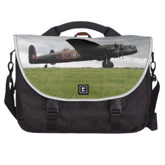 Avro Lancaster On The Field Commuter Bag