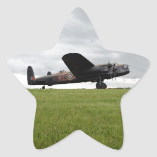Avro Lancaster On The Field Stickers