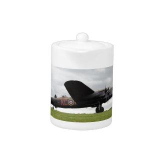 Avro Lancaster On The Field Teapot
