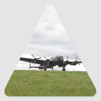 Avro Lancaster Taxiing Triangle Sticker