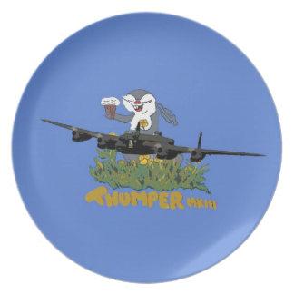 Avro Lancaster Thumper Plate