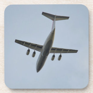 Avro RJ85 Jet In Flight Drink Coaster